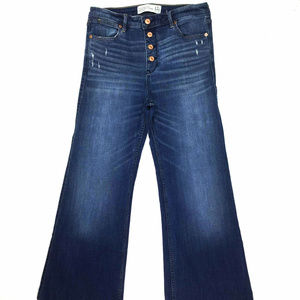 Abercrombie and Fitch Women Button Fly Flare Sz 12